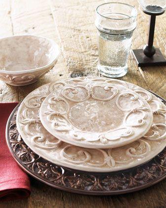 """Ducale"" Dinnerware by Caff Ceramiche"