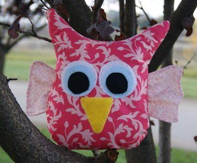 Hoot Owl Stuffed Animal Pattern