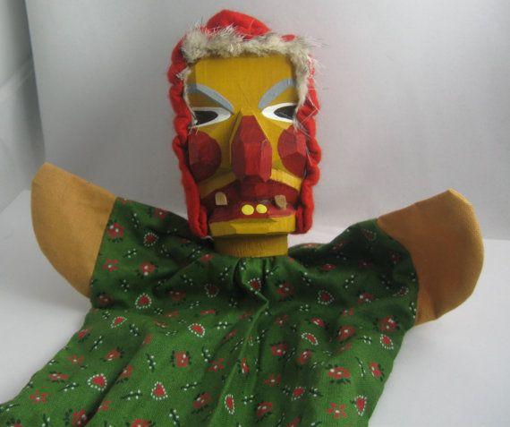 Original Lotte Sievers-Hahn hand puppet with by ideenreichBerlin