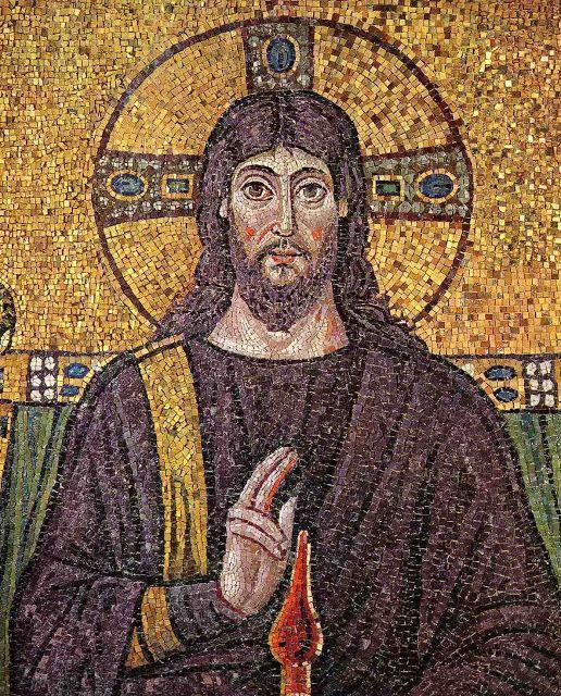 El Jesús real y el Jesús ficticio: su fisonomía 98e3a6bd54a6bddeed68d15e345085a9--byzantine-art-byzantine-mosaics