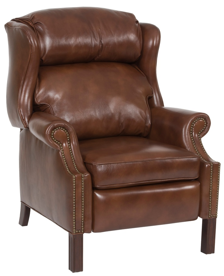 W 36 1/4 x D 31 1/4 x H 39 All leather. Recliner ...  sc 1 st  Pinterest & 23 best Hamiltonu0027s Accent Chairs and Recliners images on Pinterest ... islam-shia.org