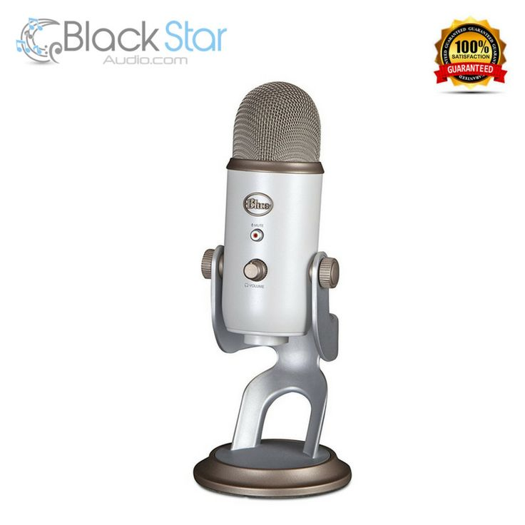 Blue Yeti USB Microphone - Vintage White #Blue