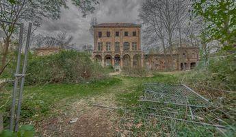 Das verlassene Haus Fühlingen in Köln