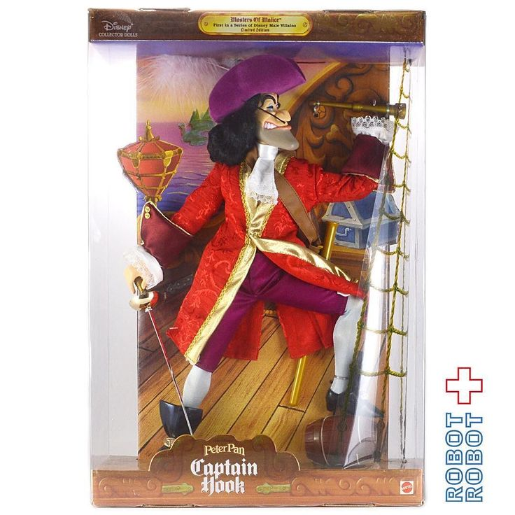 マテル ピーターパン キャプテン フック船長 ドール Mattel Masters of Marice PETER PAN CAPTAIN HOOK Doll  #Disney #ディズニー #アメトイ #アメリカントイ #おもちゃ  #おもちゃ買取 #フィギュア買取 #アメトイ買取 #vintagetoys #中野ブロードウェイ #ロボットロボット  #ROBOTROBOT #中野 #ディズニー買取 #スーベニア買取 #WeBuyToys
