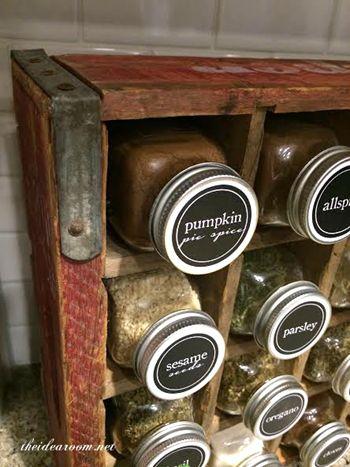 Decorative Spice Jars Simple Best 25 Spice Jars Ideas On Pinterest  Spice Rack Without Labels Inspiration