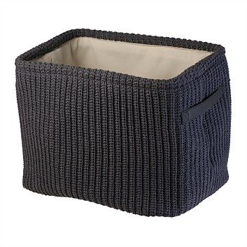 Shop quality baskets & storage boxes at Briscoes. Choose from wicker baskets, plastic boxes & more. Shop online for fast shipping & our price beat guarantee., Storage Basket Wishaw Large