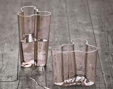 Alvar Aalto vase, Rose