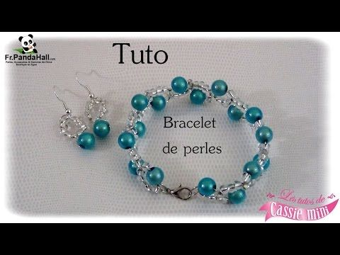 comment faire un bracelet macramé manchette en perles DIY (easy macrame bracelet with beads) - YouTube