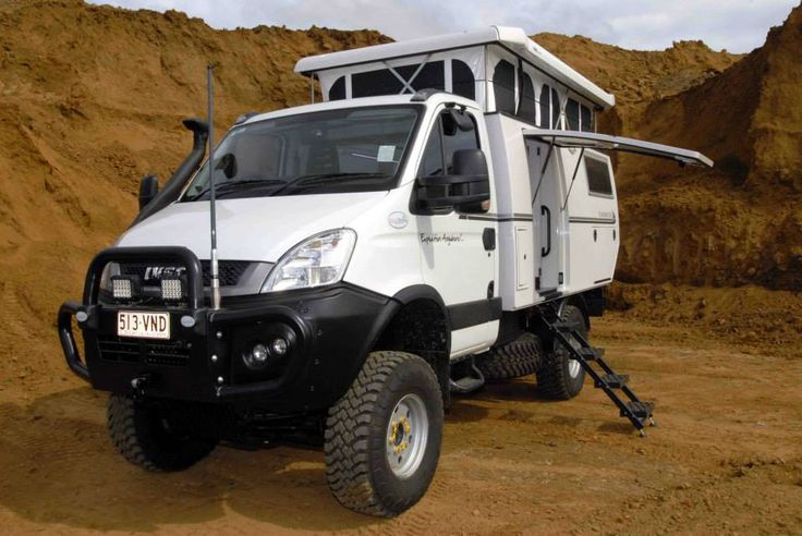 Iveco Daily 4x4 Camper.  #4WD #Offroad #Camping
