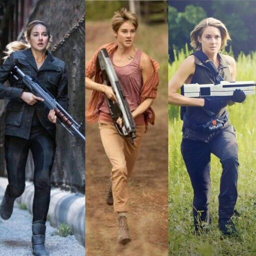 The evolution of Tris Prior #Divergent #Insurgent #Allegiant edit: WOW! now her hair is actually blonde magical