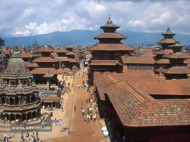 Patan Durbar Square, Kathmandu, Nepal.  This was in the next neighborhood over from where we used to live!
