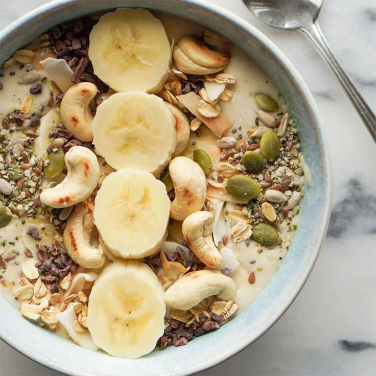 This classic combo makes for the best. damn. smoothie bowl. ever.