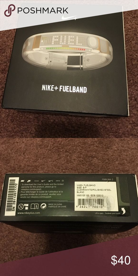 Nike fuel band size small Used but still works Nike Accessories