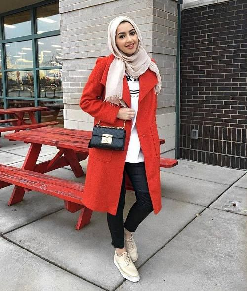 Hijabi clothing for winter 2017 – Just Trendy Girls