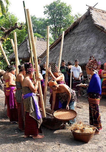 Adat Bayan Beleq Village . Indonesia