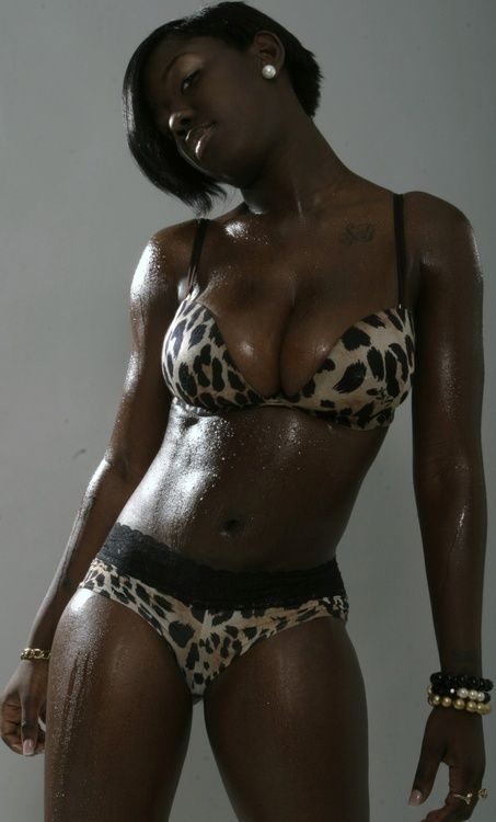 Excellent black girl perfect body sex did not