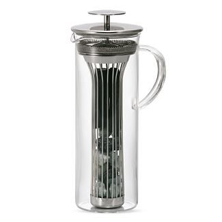 Charcoal water pitcher, a natural alternative to your typical Brita filter