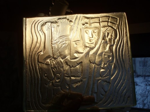 Glass relief