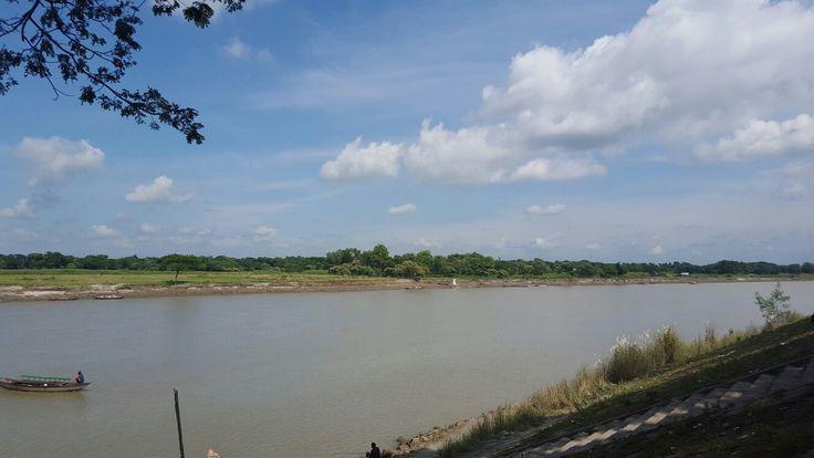 Brahmaputra River, Mymensingh, Bangladesh
