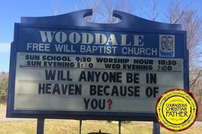 352 best Church Signs images on Pinterest | Church humor ...