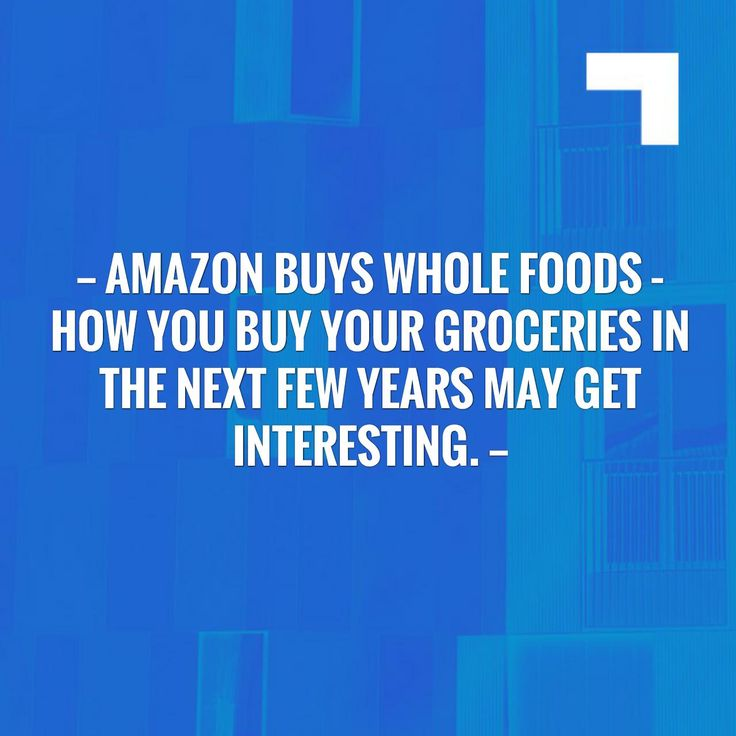 Wave hello to this awesome post! 👋 Amazon buys Whole Foods – How you buy your groceries in the next few years may get interesting. https://www.personalchef.blog/?p=516