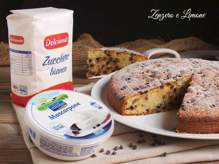 Torta+con+mascarpone+e+gocce+di+cioccolato