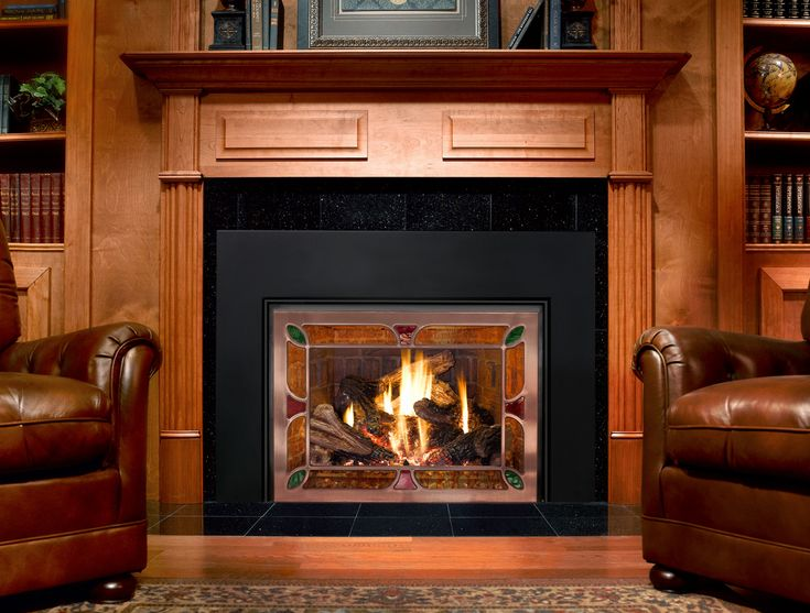 17 best images about mendota fireplaces on pinterest for Modern wood burning insert