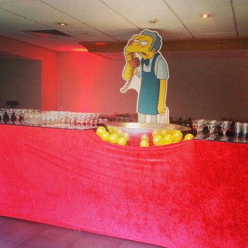 856 best simpson party images on pinterest simpsons for Home alone theme decorations