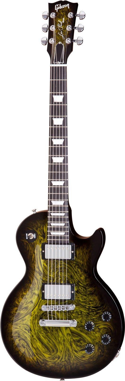 Gibson Les Paul Studio in Swirl Green Swirl Burst