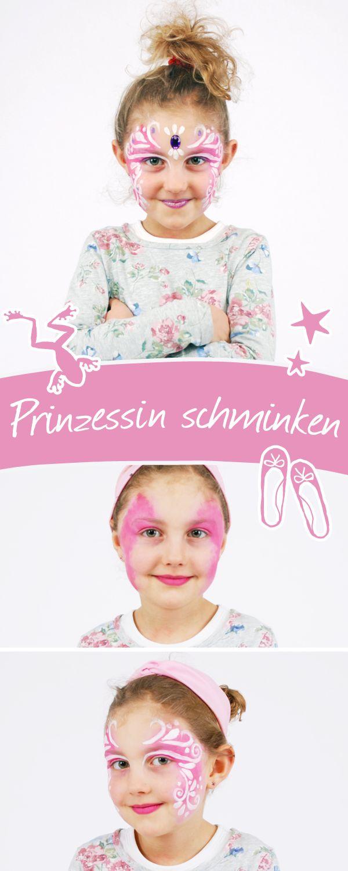 Prinzessin schminken leicht gemacht ♕