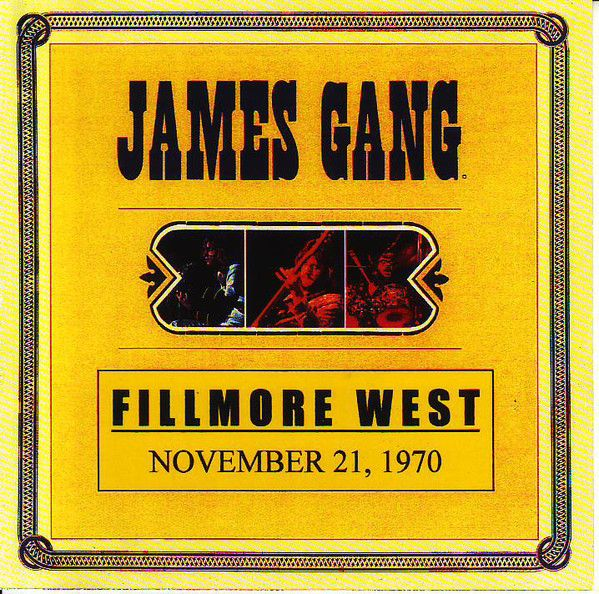 James Gang - Fillmore West 1970