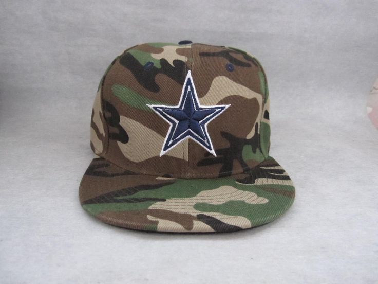 NEW Camo Dallas Cowboys Snapback Hat Baseball Cap