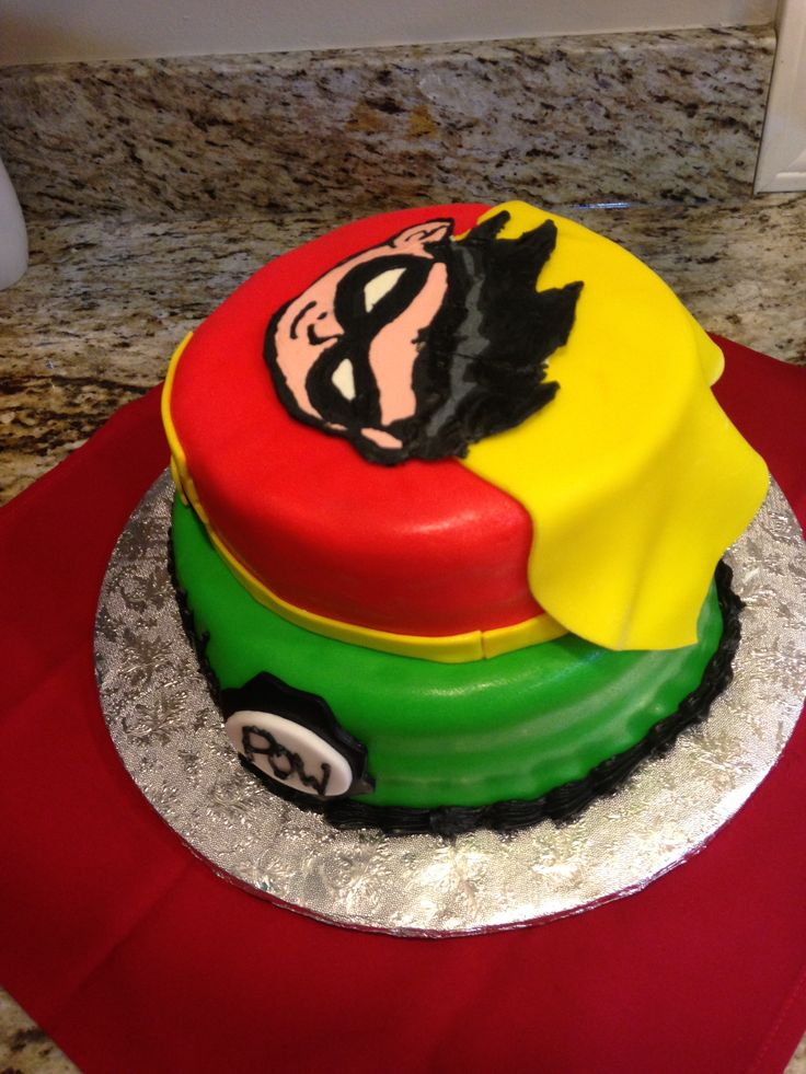 Teen Titans, Fun Boy Cake  Other Peoples Cakes -9963