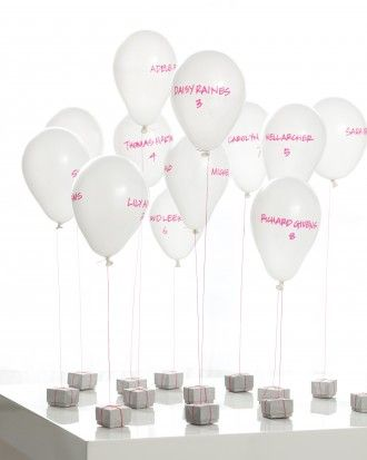"See the ""Floating Escort Cards"" in our DIY Seating Cards and Displays gallery"