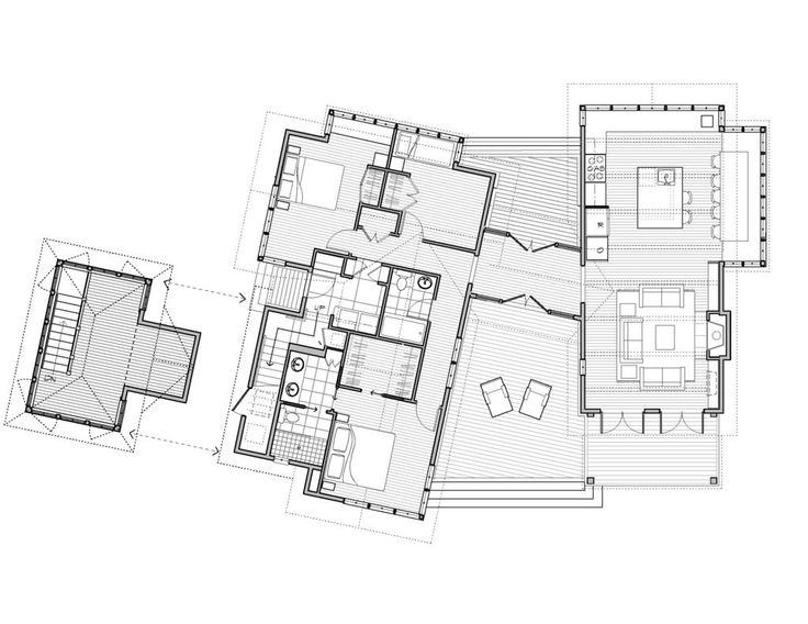 98 best House Plan images on Pinterest Bathroom, Bathrooms and - plan maison 170 m2 plain pied