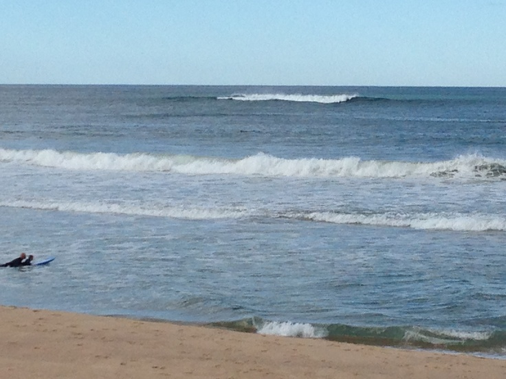 22/4/13 North Beach - check out the waves out off the bomby
