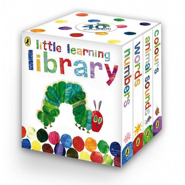 Introducing first concepts, this wonderful board book collection makes a perfect first library. Each book is filled with Eric Carle's much-loved collage art and