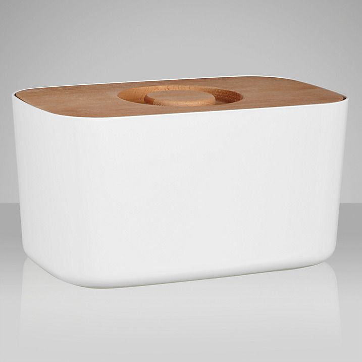 Buy Joseph Joseph Bread Bin, White Online at johnlewis.com