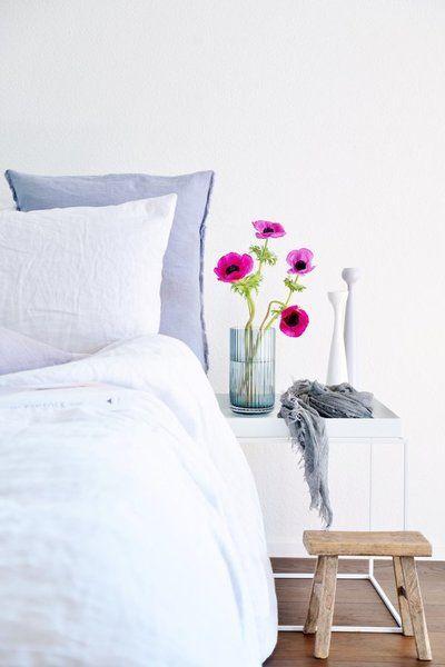 Die besten 25+ Nachttisch weiß holz Ideen auf Pinterest - schlafzimmer einrichten wei