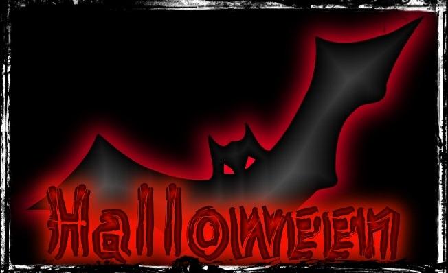 ZOOM FRASES: imagenes para saludar en halloween, con murciélagos