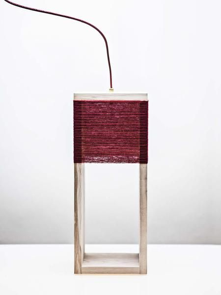 Nul Lamp Dark Red - Limited Edition | Ditte Maigaard Studio