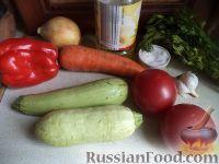 Фото приготовления рецепта: Рагу из кабачков - шаг №1