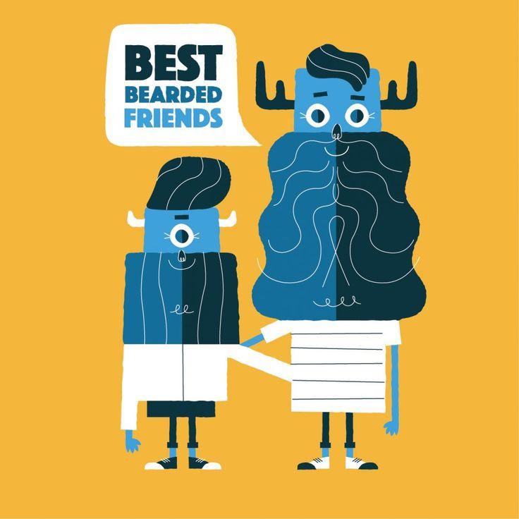 Best Bearded Friends