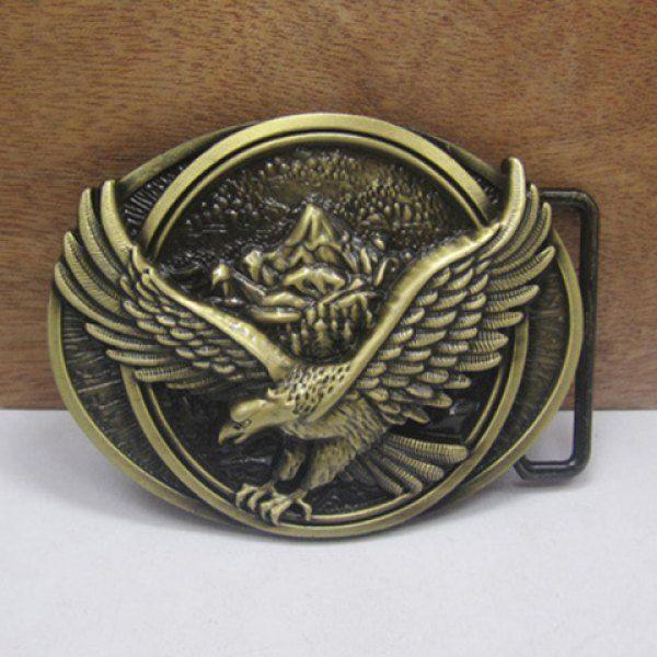 Stylish Flying Eagle Shape Embellished Belt Buckle For Men #women, #men, #hats, #watches, #belts, #fashion