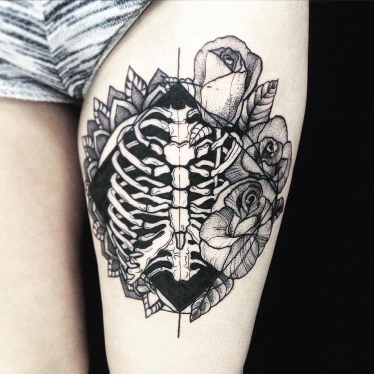 Kerry Burke Tattoos: Работа в процессе. #татуспб #татуировка #tattoo #dotwork