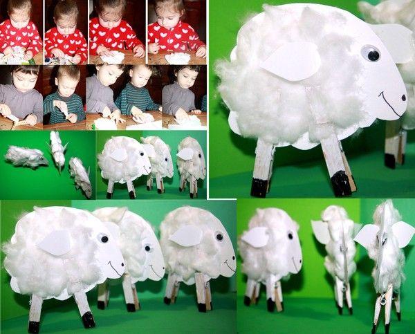 Un mouton tout doux !!!!
