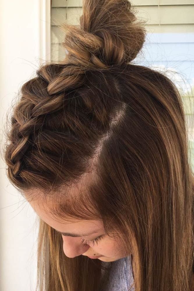 18 Medium Length Hairstyles For Thick Hair Braids For Medium Length Hair Medium Length Hair Styles Hair Lengths