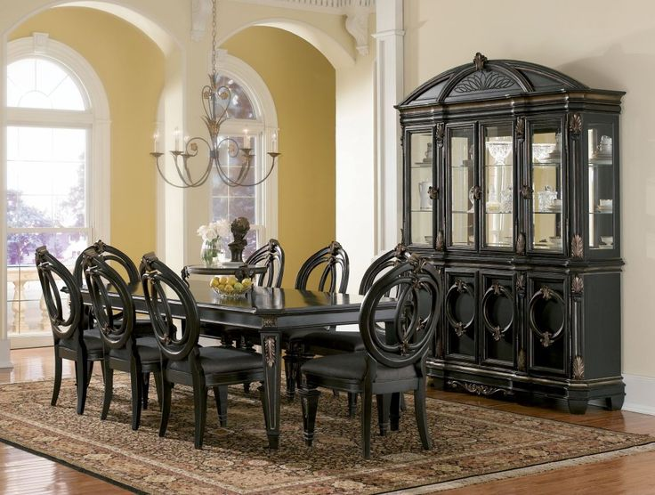 25 Best Formal Dining Room Images On Pinterest  Formal Dining Inspiration Fancy Dining Room Sets 2018