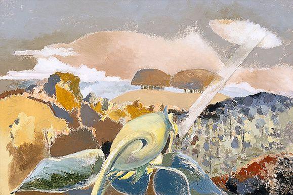 Paul Nash, Sunflower and Sun 1942