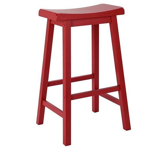 Buy Hygena Wooden Saddle Bar Stool - Red at Argos.co.uk, visit Argos.co.uk to shop online for Bar stools and chairs, Dining tables and chairs, Home and garden